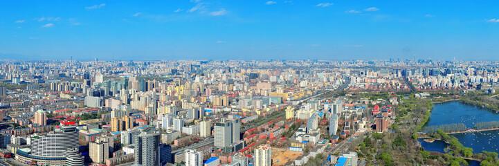 Beijing aerial view