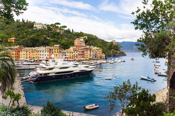 Panorama of Portofino