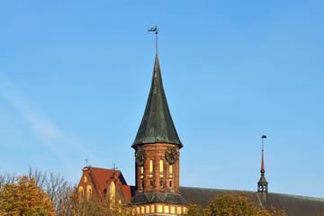 Konigsberg Cathedral. Kaliningrad. Russia