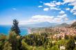 Leinwanddruck Bild - Giardini Naxos