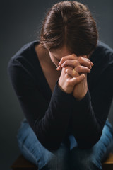 A Christian in Prayer