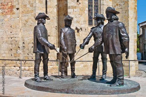 Papiers peints Statue Condom (Gers)