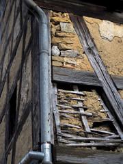 Schäden am Fachwerkhaus