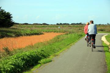 Francia,isola del Rè, gita in bicicletta.