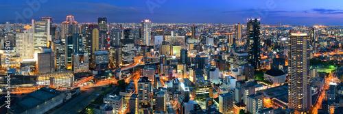 Osaka night rooftop view - 80226510