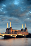 Fototapeta Battersea Power Station London