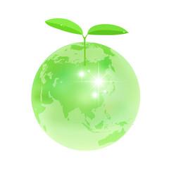 葉 地球 エコ