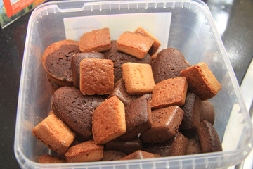 Fresh mini cakes