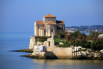 Francia,Talmontla chiesa S.Radegonde.