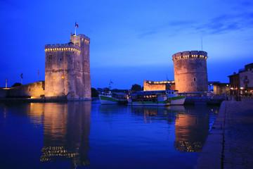 Francia,la Rochelle, il porto.