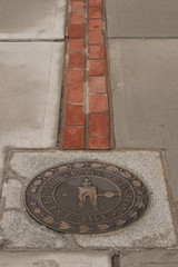 Beginning of the Freedom Trail in Boston