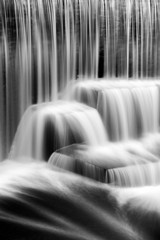 Detail of the Seeley's Pond waterfall, New Jersey