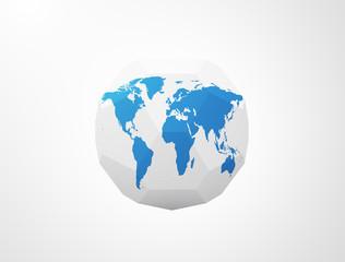 Polygonal World Sphere