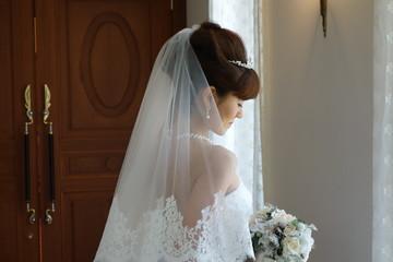The bridal scene