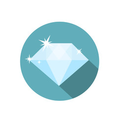 Icon diamond symbol, design icon