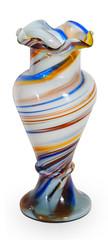 Bright glass vase