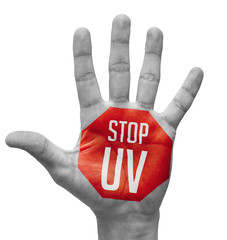 Stop UV on Open Hand.