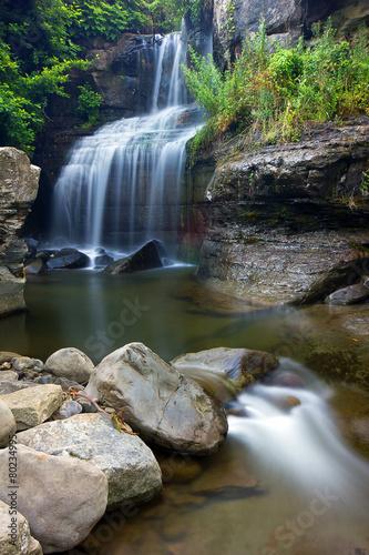 Fotobehang Watervallen Cascata