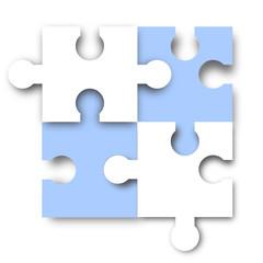 hellblau puzzle