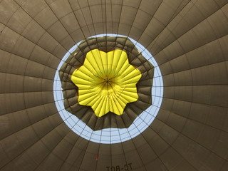 inside of balloon
