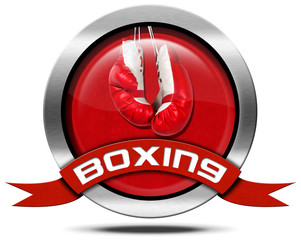 Boxing - Metal Icon