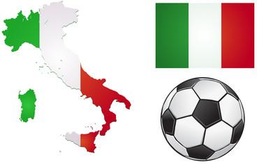 Italy football icons