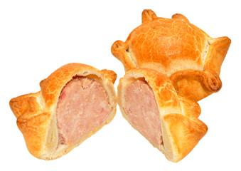 Fresh Crusty Pork Pies