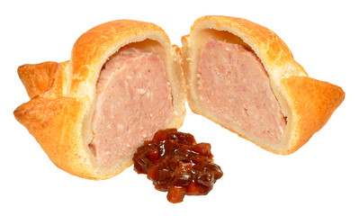 Fresh Crusty Pork Pie