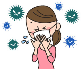 女性 ウイルス 風邪