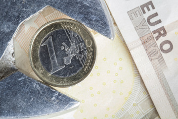 Euro loss of value