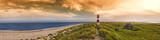 Panorama am Ellenbogen Sylt Abendrot