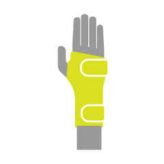 Icon of Elastic Orthopedic Compression Bandage for Wrist