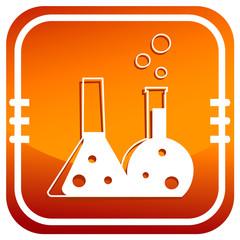 Chemisty. Single flat icon.