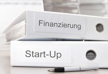 Finanzierung Start-Up Konzept
