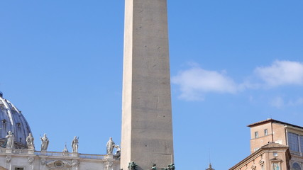 Egyptian obelisk of Caligula. Vatican City, Rome, Italy