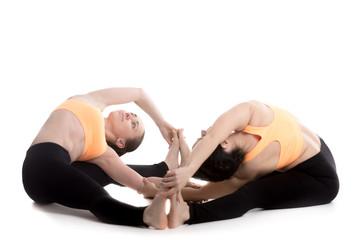 Yoga coaching, Side Wide Seated Angle Pose