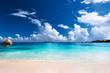 Beautiful beach at Seychelles - 80244559
