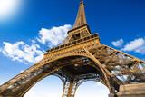 Eiffel Tower, Paris, France. Top Europe Destination.  - 80245543
