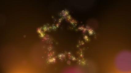星のキラキラ背景