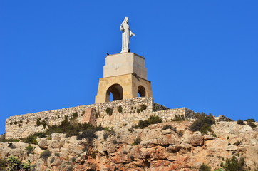 Alcazaba fortress in Almeria,Andalusia,Spain,