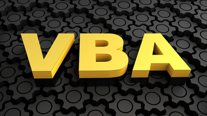 VBA (Visual Basic for Applications) - automating processes