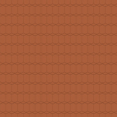 Beaver tail tile, round cut, rutted - seamless tileable