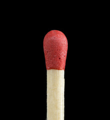 Matchstick close up