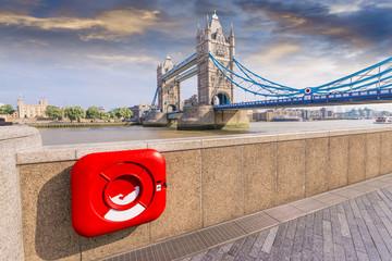 Particular view of London Bridge