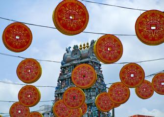 シンガポール スリ・マリアマン寺院