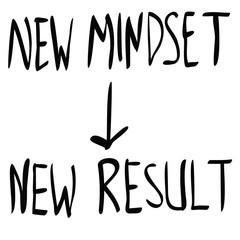 new mindset new result