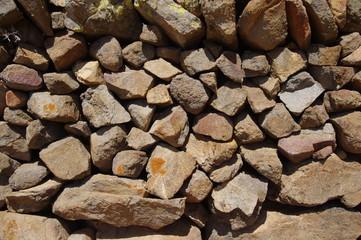 Natursteinmauer auf Fuerteventura 1