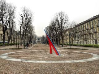 piazza Solferino a Torino