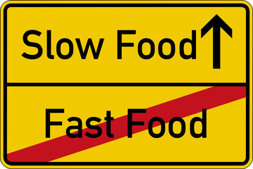 Slow Food und Fast Food