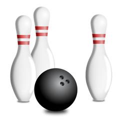 Palla e birilli bowling